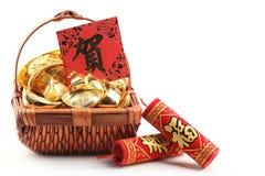 Chinese nieuwe jaardecoratie royalty-vrije stock afbeelding