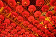 Chinese nieuwe jaarlantaarn Stock Afbeeldingen
