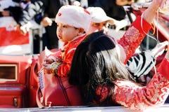 Chinese nieuwe jaarparade Royalty-vrije Stock Afbeeldingen