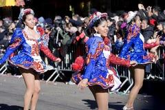 Chinese nieuwe jaarparade Royalty-vrije Stock Afbeelding