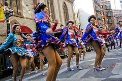 Chinese nieuwe jaarparade Stock Foto