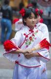 Chinese nieuwe jaarparade Stock Afbeelding