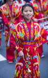 Chinese nieuwe jaarparade Royalty-vrije Stock Foto's