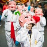 Chinese nieuwe jaarparade in Parijs Stock Foto