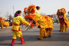 Chinese nieuwe jaarviering Royalty-vrije Stock Fotografie