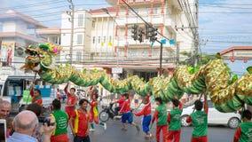 Chinese nieuwe jaarviering in Thailand Royalty-vrije Stock Fotografie