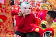 Chinese nieuwe jaarviering in Thailand Stock Foto