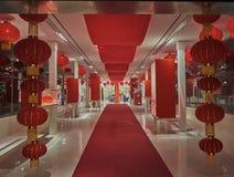 Chinese nieuwe jaarzaal Stock Foto