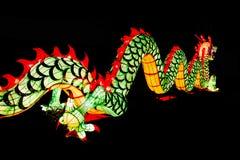 Chinese Nieuwjaardecoratie--Close-up van kleurrijke draak royalty-vrije stock afbeelding