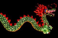 Chinese Nieuwjaardecoratie--Close-up van kleurrijke draak stock foto's