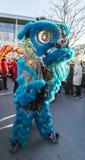 Chinese Nieuwjaarparade - het Jaar van de Hond, 2018 royalty-vrije stock afbeelding