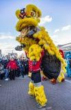 Chinese Nieuwjaarparade - het Jaar van de Hond, 2018 royalty-vrije stock afbeeldingen