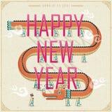 Chinese Nieuwjaarparade van draakdans Stock Afbeelding