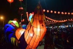 Chinese Nieuwjaarvieringen in Surakarta Royalty-vrije Stock Afbeeldingen