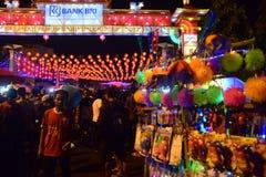 Chinese Nieuwjaarvieringen in Surakarta Royalty-vrije Stock Fotografie