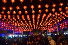 Chinese Nieuwjaarvieringen in Surakarta Stock Fotografie