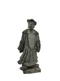 Chinese nobleman statue. Chinese ancient  stone statue in the shape of nobleman Royalty Free Stock Images