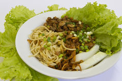 Chinese noddle Stock Foto