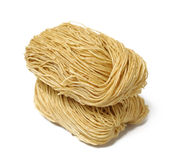 Chinese noodle. Over white background Royalty Free Stock Images