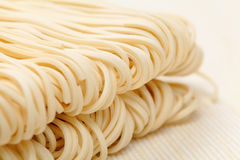 Chinese noodle. Texture close up Royalty Free Stock Image