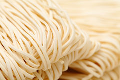 Chinese noodle. Texture close up Stock Photo