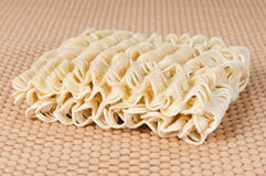 Chinese noodle. Chinese dried noodle close up shot Stock Photo