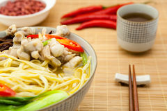 Chinese noodle Stock Photo