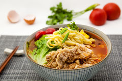 Chinese noodle Stock Image