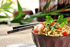 Chinese noodle dish Royalty Free Stock Photo