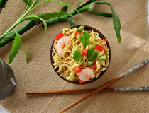 Chinese noodle dish Stock Photo