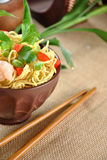 Chinese noodle dish Royalty Free Stock Photography