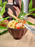 Chinese noodle dish Royalty Free Stock Image