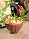 Chinese noodle dish Stock Image