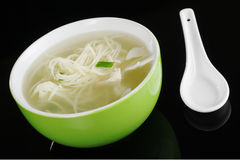 Chinese Noodle Soup Stock Image
