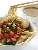Chinese Noodle Soup Royalty Free Stock Photo