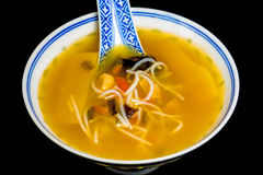 Chinese noodle soup Royalty Free Stock Image