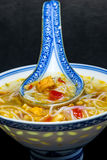 Chinese noodle soup Royalty Free Stock Photos