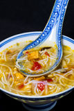 Chinese noodle soup Royalty Free Stock Images