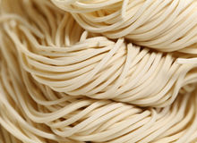 Chinese noodle,uncook. Chinese noodle in close up,uncook Royalty Free Stock Photo