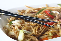 Chinese noodles Royalty Free Stock Images