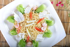 Chinese noodles Stock Photography