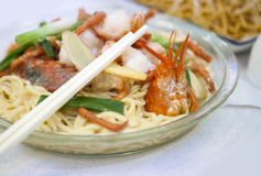Chinese Noodles Royalty Free Stock Photography