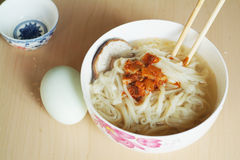 Chinese noodles for dinner Royalty Free Stock Photos