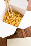 Chinese noodles Royalty Free Stock Photo