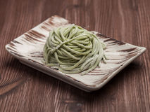 Chinese Noodles for Wok Stock Image