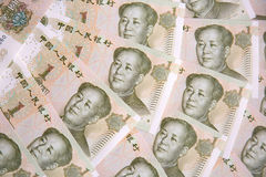 Chinese notes Royalty Free Stock Image
