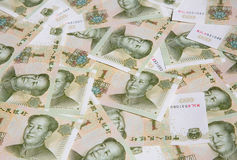 Chinese notes Royalty Free Stock Images
