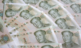 Chinese notes Stock Photos
