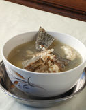 Chinese nourishing fish soup. Diet Royalty Free Stock Images