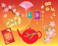 Chinese objects Stock Photography